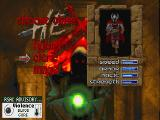 Hexen: Beyond Heretic DOS Character selection: The Cleric.