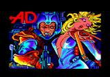 Megacorp Amstrad CPC Loading screen