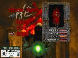 Hexen: Beyond Heretic DOS Character selection: The Mage.