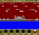 Wings of Fury Game Boy Color The game engine zooms out when you fly above a certain altitude