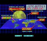 Metal Combat: Falcon's Revenge SNES Not a level-select screen, but a look where you will go next screen