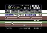 Daley Thompson's Decathlon Commodore 64 Running the 110 meter hurdles