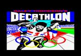 Daley Thompson's Decathlon Amstrad CPC Loading screen