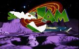 Space Jam DOS Space Jam Title.