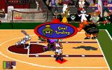 Space Jam DOS Goal tending.