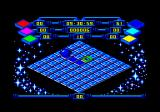 Rollaround Amstrad CPC I need to roll over all the squares and turn the solid blue.