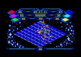 Rollaround Amstrad CPC I was hit be the square enemy.