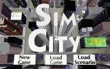 SimCity Enhanced CD-ROM DOS Menu