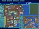 SimCity Enhanced CD-ROM DOS Boston city view