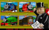 Thomas the Tank Engine and Friends Pinball DOS Select an engine with the fat controller