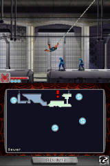 Spider-Man: Web of Shadows Nintendo DS Swinging in the Subway Tunnels