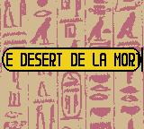 Papyrus Game Boy Color Desert de la <b>Mort</b>