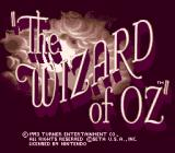 The Wizard of Oz SNES Title screen