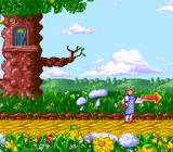 The Wizard of Oz SNES The exit to the level