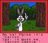 Bugs Bunny in Crazy Castle 4 Game Boy Color Sounds like a plan!
