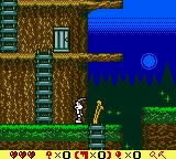 Bugs Bunny in Crazy Castle 4 Game Boy Color A creepy environment