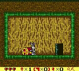 Bugs Bunny in Crazy Castle 4 Game Boy Color Opening a chest.