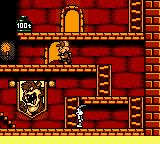 Bugs Bunny in Crazy Castle 4 Game Boy Color Elmer stalks the halls with his shotgun.