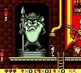 Bugs Bunny in Crazy Castle 4 Game Boy Color A lovely statue