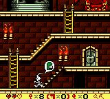 Bugs Bunny in Crazy Castle 4 Game Boy Color Once you have all the keys this helpful thought bubble will appear.