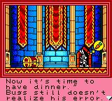 Bugs Bunny in Crazy Castle 4 Game Boy Color Bugs is understanably enthusiastic.