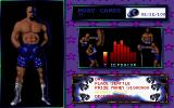 3D World Boxing  DOS Creating a boxer.