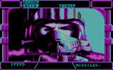 After Burner II DOS Loading the game. (CGA)