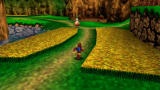 Banjo-Kazooie Xbox 360 Running through the fields of Spiral Mountain