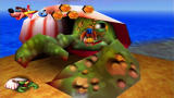 Banjo-Kazooie Xbox 360 Nipper the crab cuts Banjo down to size