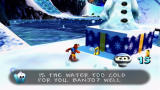 Banjo-Kazooie Xbox 360 Banjo can't handle swimming in the icy water of Freezeezy Peak