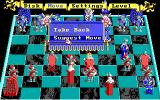 Battle Chess DOS If you have no idea what to do like I do you can use the in-game suggestion. (EGA)