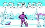 Colorado DOS Title screen. (CGA)