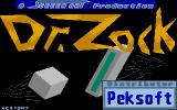 Dr. Zock Atari ST Title screen