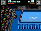 WWF Wrestlemania: Steel Cage Challenge SEGA Master System A bit of fighting outside of the ring. There is a 10 second limit outside before losing.