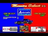 Daytona USA Windows Selecting one of the two initially-available cars