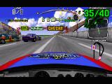 Daytona USA Windows The cockpit view; shall we turn in for a pitstop?