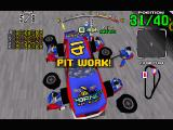 Daytona USA Windows Pulling in for a pitstop