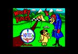 Wacky Races Amstrad CPC Title screen