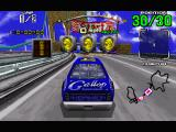 Daytona USA Windows About to begin the Expert race