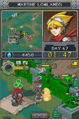 Lock's Quest Nintendo DS Lock fixes the damaged defenses with his Repair All super ability
