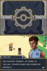 Lock's Quest Nintendo DS Lock meets Isaiah after saving his life