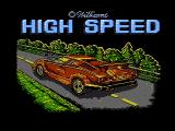 High Speed NES Title screen