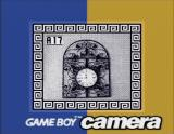 Game Boy Camera (included Games) Game Boy And now some pictures from the gallery ! Here's a interesting looking clock.