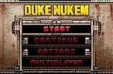 Duke Nukem Advance Game Boy Advance Title Screen