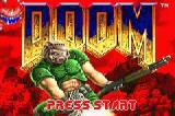 DOOM Game Boy Advance Start Screen