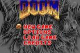 DOOM Game Boy Advance Title Screen
