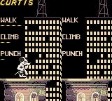 Rampage 2: Universal Tour Game Boy Color You start with the giant rat, Curtis.