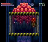 Majūō SNES You must battle this spider-demon as you ride up the elevator.