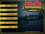Axis & Allies: Iron Blitz Windows Title screen
