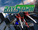 RayStorm PlayStation Attract mode, splash screen